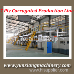 3 5 7 layer Corrugated Cardboard Production Line