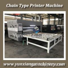 Chain Feeder Printer Slotter Machine