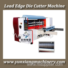 Lead edge Die Cutting Machine