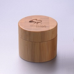 250ml Bamboo cream jar with PP inner jar