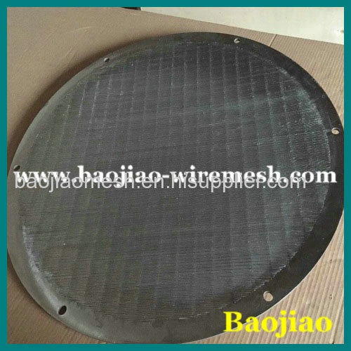 Stainless Steel Centrifuge Wedge Wire Screen
