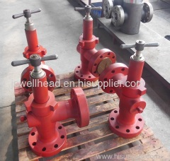 "API 2 1 / 16"" - 3000 psi Adjustable Choke Valve"