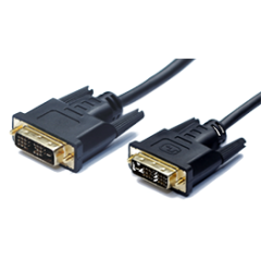 DVI cable and adaptor