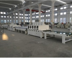 Uv coating machine for SPC