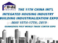 China Int'l Integrated Housing & Building Industrialization Expo (CIHIE 2019)