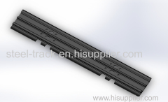 Pitch 135 Excavator Track Shoe for PC40-7
