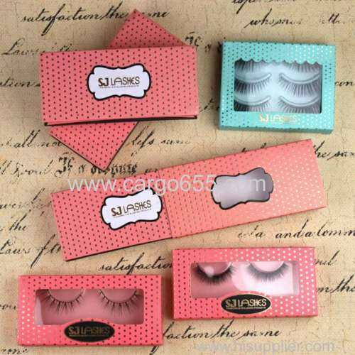 3D Mink Fur False Eyelashes Silk Lashes