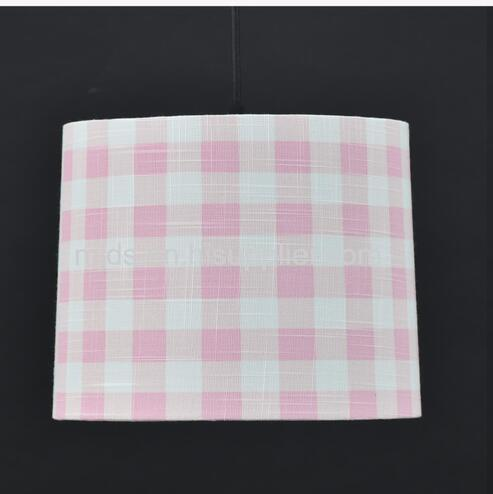 Gingham Printed Shade For Kids D235*250*H200mm