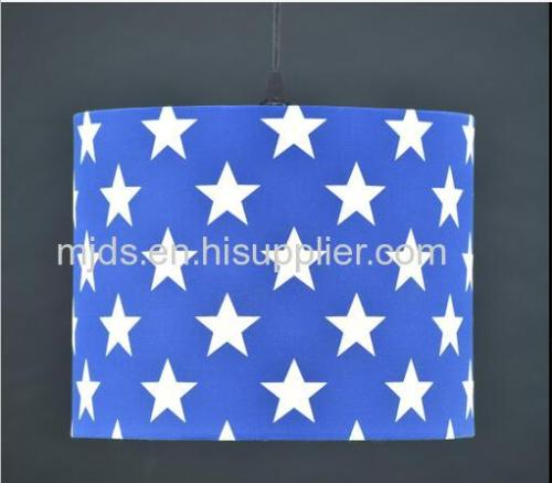 Printed Star Pendant For Boy