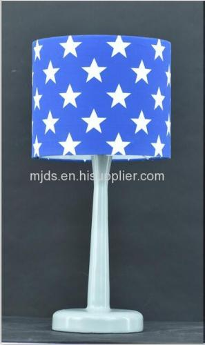 D220*H180mmShade Printed Star Table Lamp