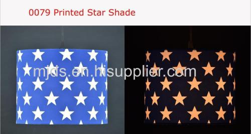 Printed Star Pendant For Boy D250*H200MM