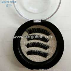 High standard false mink magnetic eyelashes with top quality