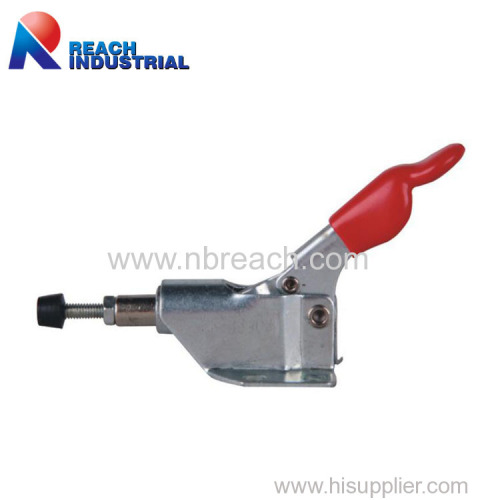 Red Antislip Hand Push Pull Fast Fixture Toggle Clamp