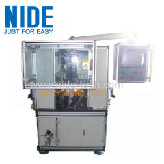FULLY AUTOMATIC ARMATURE WINDING AND FUSING WELDING SOLDERING MACHINE