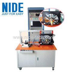 Automobile motor wiper motor motor stator integrated testing panel