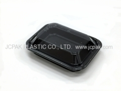 Disposable food container (BLACK)