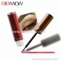 Wholesale long-lasting waterproof cosmetic glitter liquid eyeliner