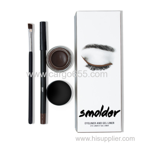 Long Lasting Makeup Waterproof Eyeliner 3 in 1