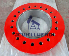 "Wellhead Drilling Adapter Flange 13 5 / 8"" x 5000 psi API 6A"