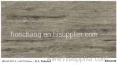 wood grain porcelanato polished floor tile Chinese supplier
