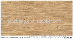 glazed wood texture design porcelain tile Chinese supplier