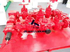 "Oil Well Testing Manifold 3"" x 10000psi"