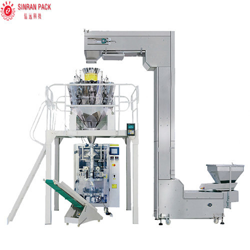 Packing machine for dried beans/nuts/peanuts