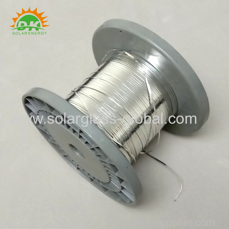 Pre-cut Solar Busbar Wire / Solar PV Ribbons (size 5*0.2mm 5 * 0.25mm)