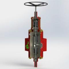 Hydraulic Frac Gate Valve for Frac Tree & Hydraulic Fracturing