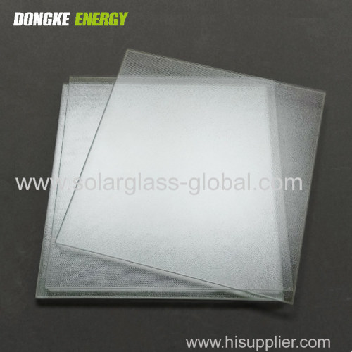3.2mm Tempered Low Iron Extra Clear Solar Glass for solar panels/solar collector