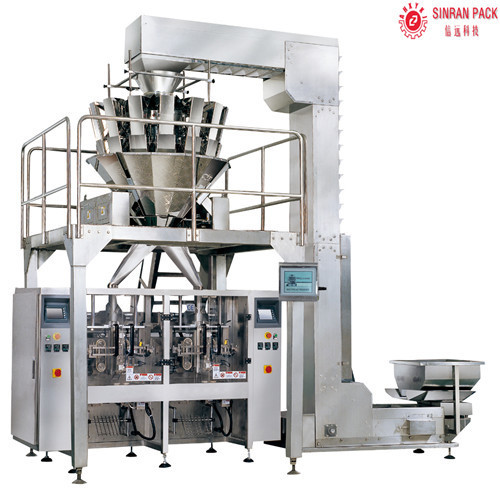 Rotary packing machine for rice/beans/sesame/seeds