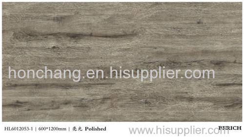 Gres porcellanato polished floor tile wood grain floor tile