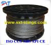 round strand steel wire rope galvanized/ungalvanized