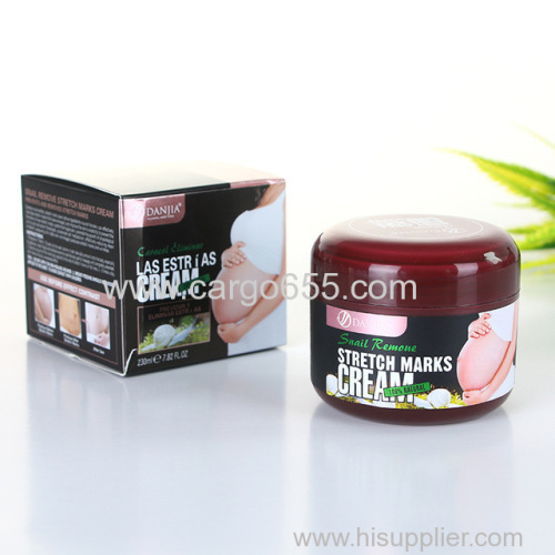 Natural Pregnancy Scar and Stretch Mark Removal Cream