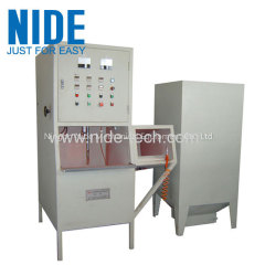 Automatic stator coil powder coating machine
