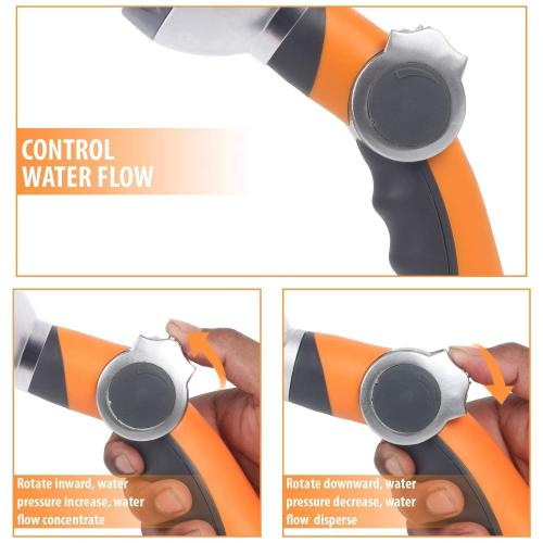 Water Spray Nozzle With Thumb Valve
