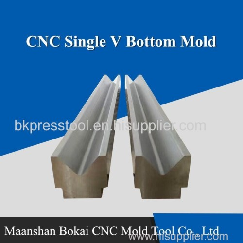 CNC Press Brake Single V bottom Mold