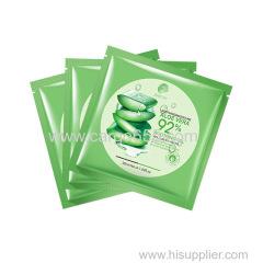 Natural Aloe Vera Pure Plant Extract Tendering Deep Moisturizing Nourishing Face Mask