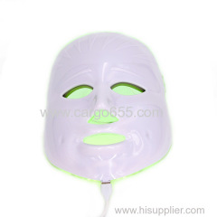 Pdt led face mask skin care machine