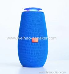 2018 New Style High Quality Portable Wireless speakers with light support usb tf card fm radio