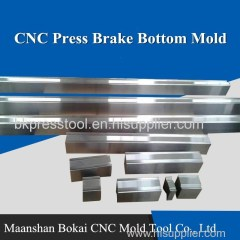 CNC Press Brake Bending Bottom Mold