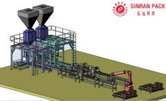Линия по производству водорастворимых удобрений с контролируемым компьютером