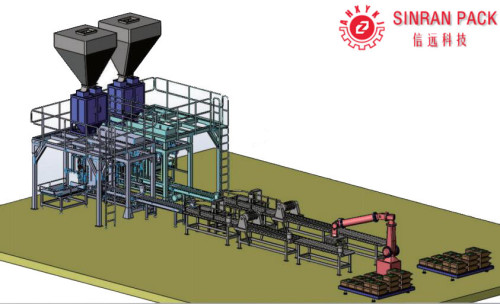 Computer Controlled Water Soluble Fertilizer Production Line