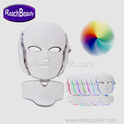 Facial Skin Care Product 7 Colors Photon PDF Bio Light Therapy