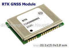 GNSS engine module Integrated RTK technology