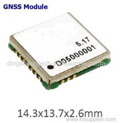GPS/GLONASS/GALILEO/QZSS/SBAS MODULE GPS/GLONASS Module