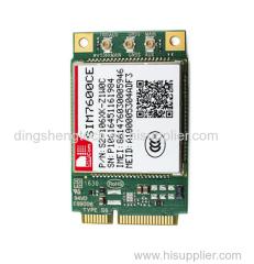 SIMCOM TDD-LTE B38/B39/B40/B41/B1/B3/B8 4g mini pci module