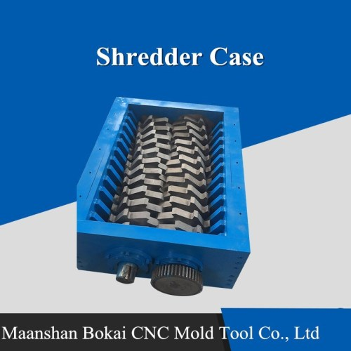 Waste Crusher Shredder Case