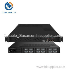 sd digital headend equipment catv encoder mpeg2 to ip 8/12/24 programs
