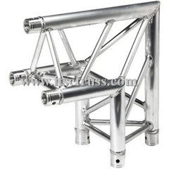Aluminum Lighting Trussing L-Shaped Triangular Truss 90 Degree Corner
